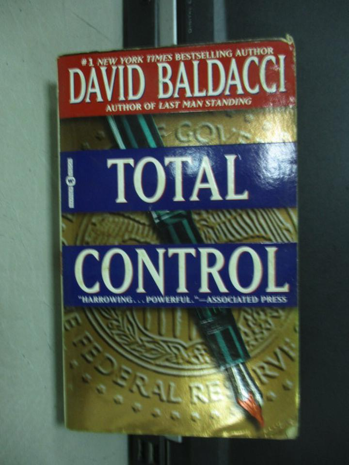 【書寶二手書T9/原文小說_KAO】Total Control_David Baldacci