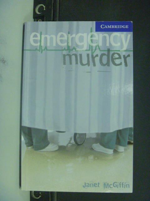 【書寶二手書T1/語言學習_IAO】Emergency Murder_McGiffin, Janet_無光碟