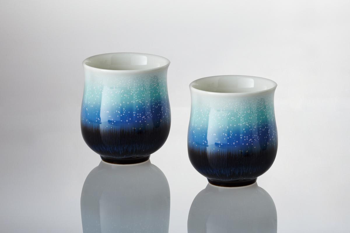 乾唐軒活瓷 ‧ 雪晶中杯(雪晶釉 / 二入 / 紙盒)