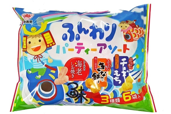 (日本) 越後製菓3種類綜合米果 1包 84 公克 特價 133 元 【4901075015738】(越後綜合泡芙米果)