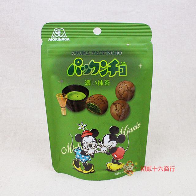 【0216零食會社】日本森永-夾心餅乾(抹茶口味)44g