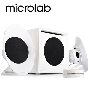 [天天3C] Microlab FC50 三件式 2.1 聲道 數位臨場多媒體音箱系統