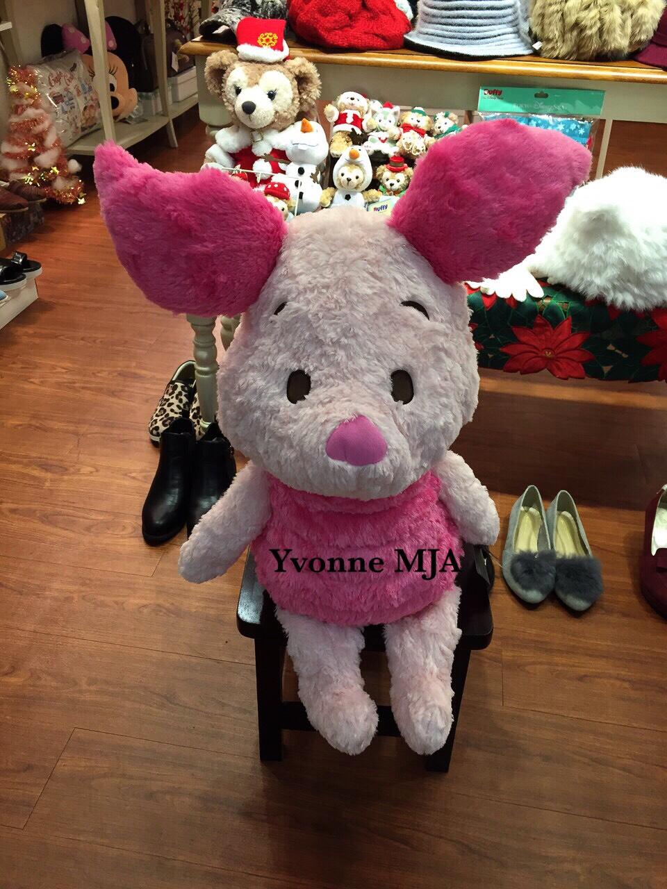 *Yvonne MJA美國代購*美國迪士尼限定正品 小熊維尼好朋友piglet小豬 超柔軟絕版 大娃娃