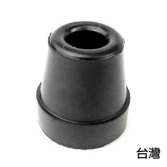 橡膠腳套 腳墊 - [841] 孔徑1.15cm 高3.05cm 黑色 2個入 四腳拐杖使用 老人用品 銀髮族