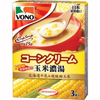 味之素VONO玉米濃湯3袋入(50.4g)