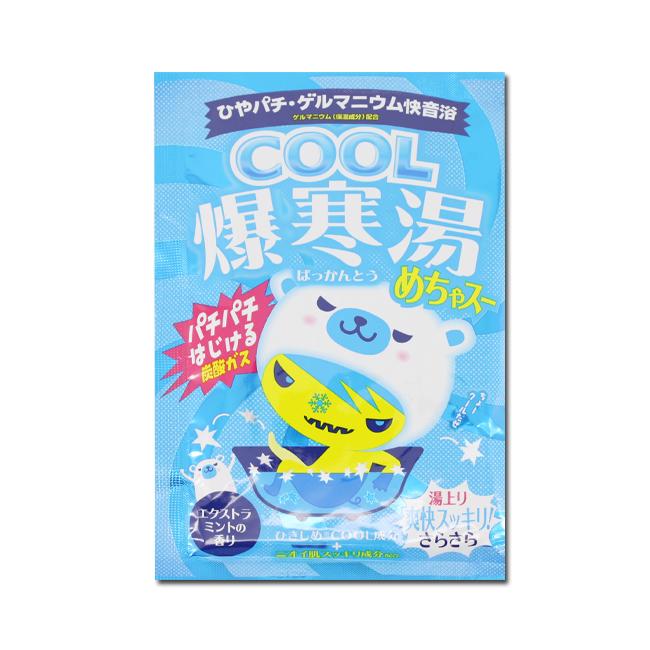 BISON佰松 爆寒湯美肌入浴劑-沁涼薄荷 60g(效期至17.05)