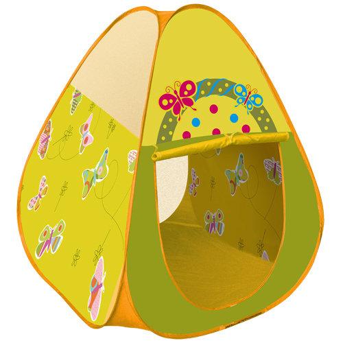 《孩子國》三角蝴蝶帳篷折疊遊戲球屋送200球