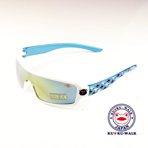 日本Ku Ku Walk兒童太陽眼鏡-(黑熊/汽車腳)&(桃紅/白圓點)