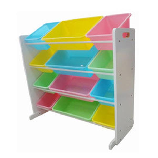 [孩子國]粉彩兒童玩具收納櫃