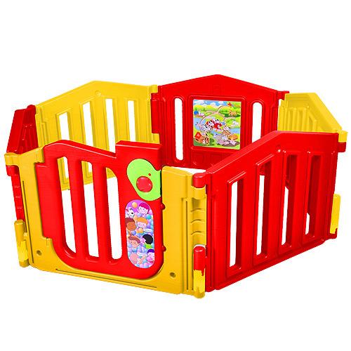 【孩子國】二代遊戲世界圍欄~附遊戲板、鎖門片(PY-06)