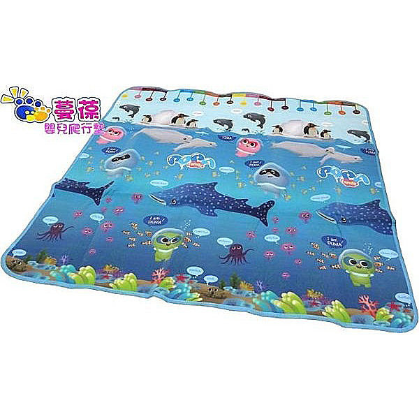 僅一組出清 ~ 蔓葆嬰兒爬行墊 海洋系列 180x180x0.5cm 遊戲墊 萬用地墊