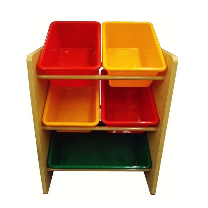 【孩子國】兒童玩具 木質收納架