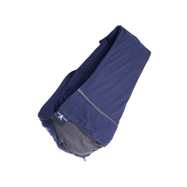 【安琪兒】荷蘭【wallaboo】酷媽袋鼠背巾 - 雙色系(深藍/灰)-預購12月中到