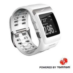 NIKE+ SPORTWATCH GPS 運動手錶-黑/白(含踏頻)