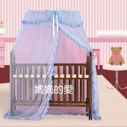 【媽媽的愛】Mother's Love KC1001嬰兒床加大方型蚊帳