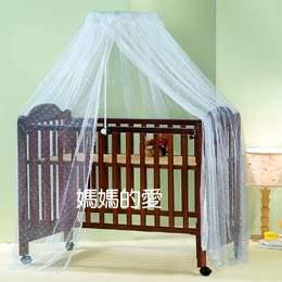 【媽媽的愛】Mother's Love KC1002嬰兒床圓型蚊帳