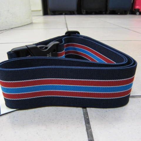~雪黛屋~YESON 超級彈性伸縮束帶 任何尺寸行李箱皆適用 保護行李箱不被摔開磨損#919深藍