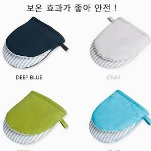美麗大街【BF416E2】SAFEBET 烘焙工具耐高溫全棉加厚烤箱微波爐防燙隔熱手套(單只售)短款