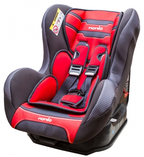 ★衛立兒生活館★NANIA 納尼亞0-4歲安全汽座(素紅色)(安全座椅)FB00385