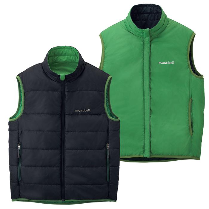 【鄉野情戶外專業】 mont-bell |日本| THERMAWRAP 雙面穿化纖外套/背心外套/1101454 【兒童款130-150】
