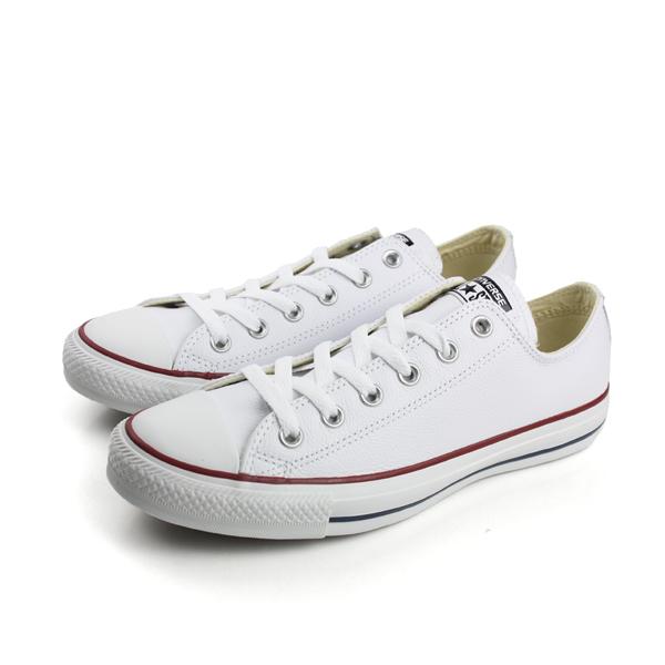 CONVERSE 帆布鞋 白 男女款 no060