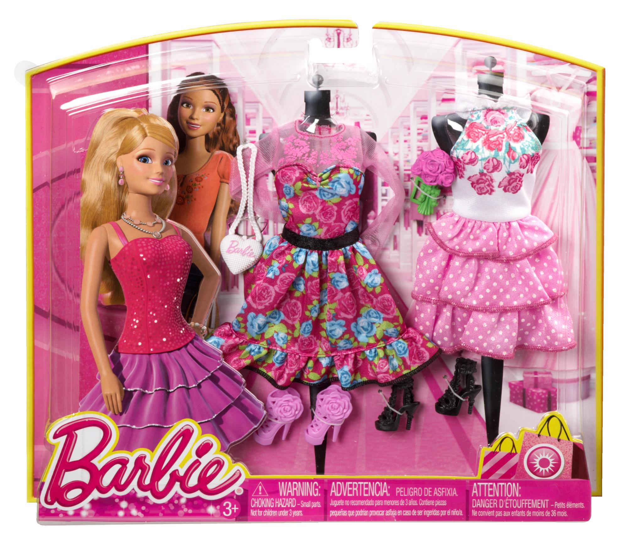 玩具反斗城 芭比甜美服飾組