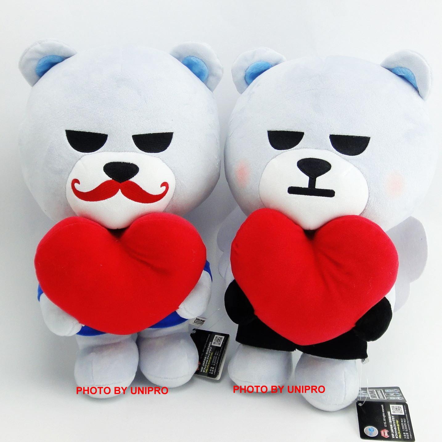 【UNIPRO】KRUNK BIGBANG BIG T.O.P TOP D-LITE 一套兩款 全兩種 絨毛 娃娃 禮物 情人節