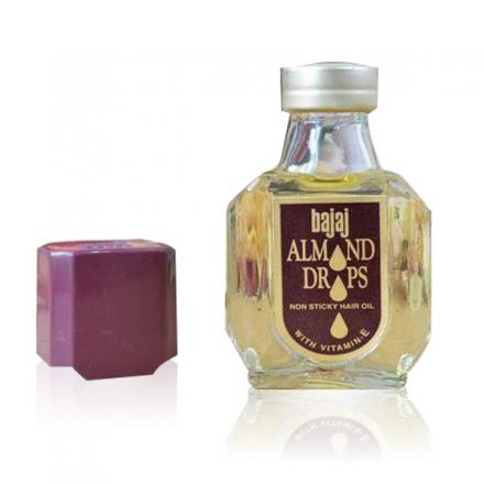 印度 Bajaj Almond 杏仁護髮油 20ML 隨身瓶 (不黏膩) ☆真愛香水★