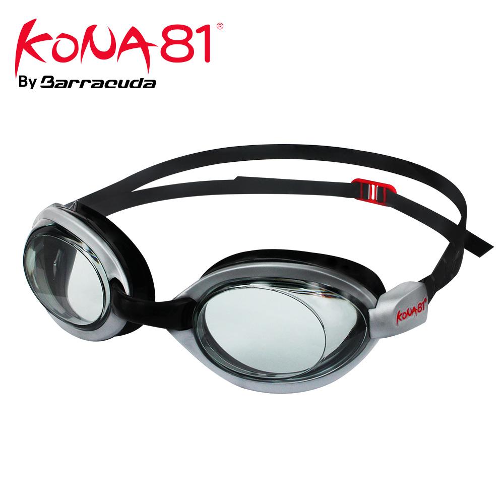 美國巴洛酷達Barracuda KONA81三鐵度數泳鏡K514【鐵人三項近視專用】