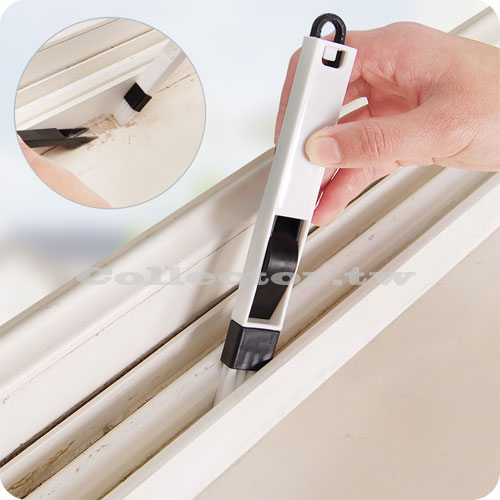【F16040801】窗戶窗槽凹槽清潔刷 附畚箕縫隙刷 鍵盤刷
