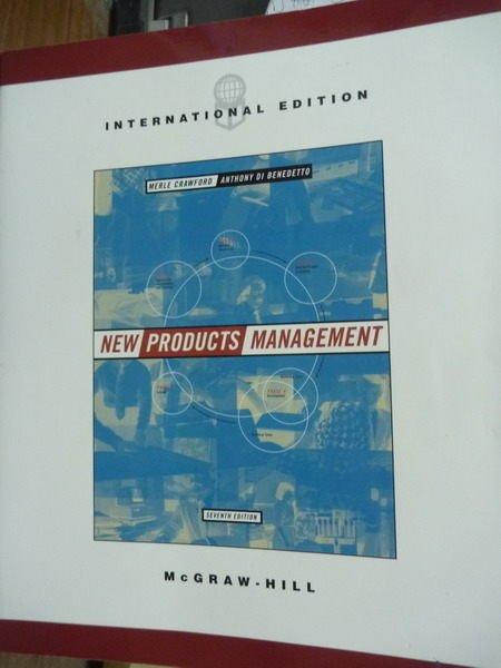 【書寶二手書T8/大學商學_QGC】New Products Management_Crawford_7/e