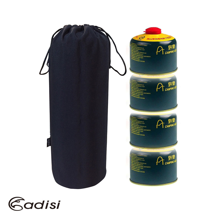 ADISI 瓦斯罐袋AS15040 / 城市綠洲/(攜帶式、輕量、黑色、郊遊戶外)