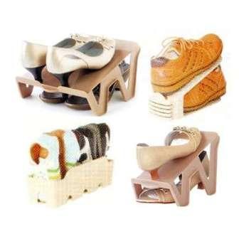 【珍昕】 KEYWAY鞋架系列~4款(大阪城.金滿足開口笑.童鞋收納盒)