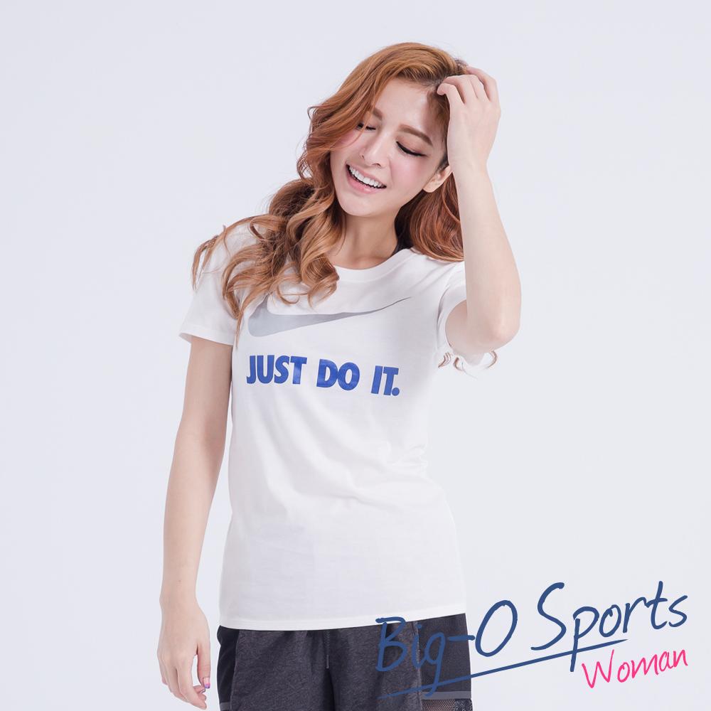 NIKE 耐吉  NIKE TEE-JDI SWOOSH CREW  短袖T恤  女 685519105 Big-O SPORTS