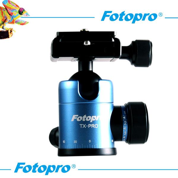 【普羅相機】TX-PRO 專業球型雲台 (藍色)