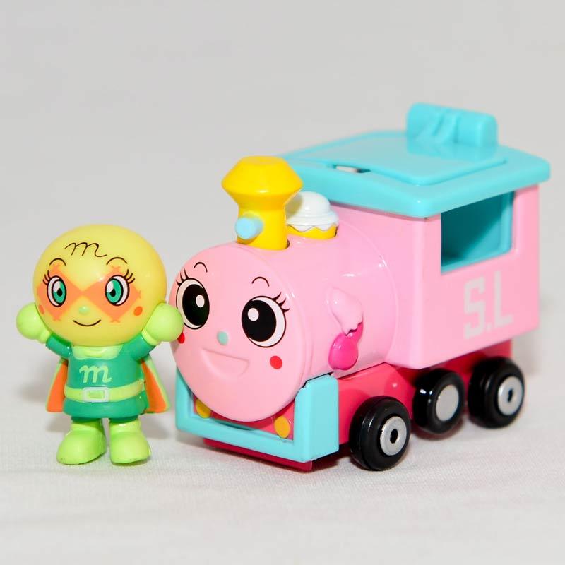 麵包超人 哈蜜瓜超人 合金小火車 日本帶回正版品 GO GO MINI CAR!