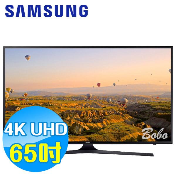 SAMSUNG三星 65吋 UHD 4K 平面液晶電視 UA65KU6000WXZW