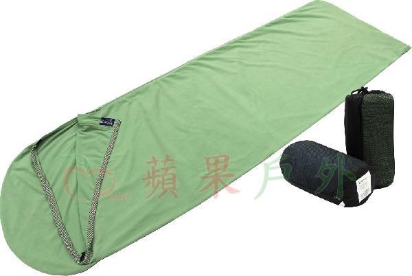 【【蘋果戶外】】吉諾佳 AX053Z Lirosa 睡袋內套刷毛布-加拉鏈 內袋 露宿袋 外宿、自助旅行、出租睡袋、登山
