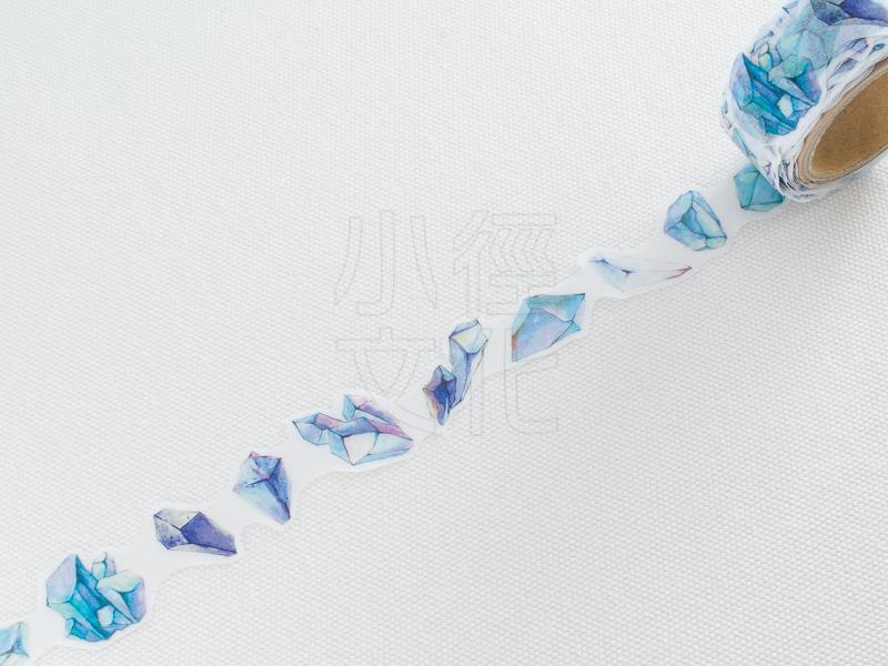 *小徑文化* | 台灣原創紙膠帶 | 黑夢蝶 - 水晶 ( 401 ),RT承製,台灣限定販售