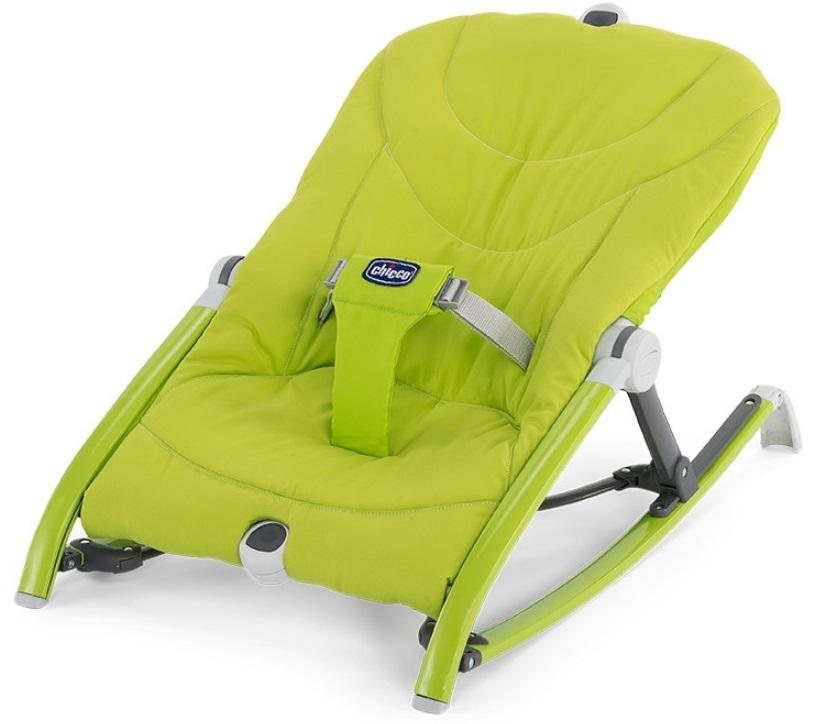 【淘氣寶寶】Chicco Pocket Relax 安撫搖椅【保證原廠公司貨】【草原綠】