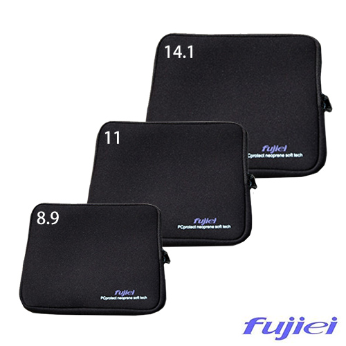 Fujiei筆記型電腦/平板8.9吋多功能防震包