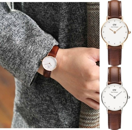 【Cadiz】瑞典正品 DW手錶 Daniel Wellington 0900DW 玫瑰金 0920DW 銀 26mm
