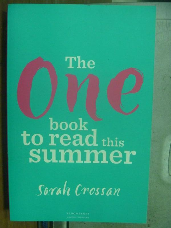 【書寶二手書T3/原文小說_OMF】The One book to read this Summer