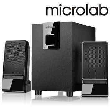 [天天3C] Microlab M-100 2.1多媒體喇叭-國民澎湃機
