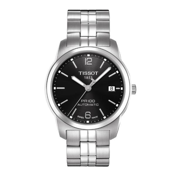 TISSOT天梭T0494071105700 PR100經典機械腕錶/黑面40mm