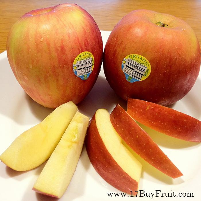 美國超大顆有機富士蘋果(64 或 72顆原裝箱)產地現採◆空運直送【採預購制】