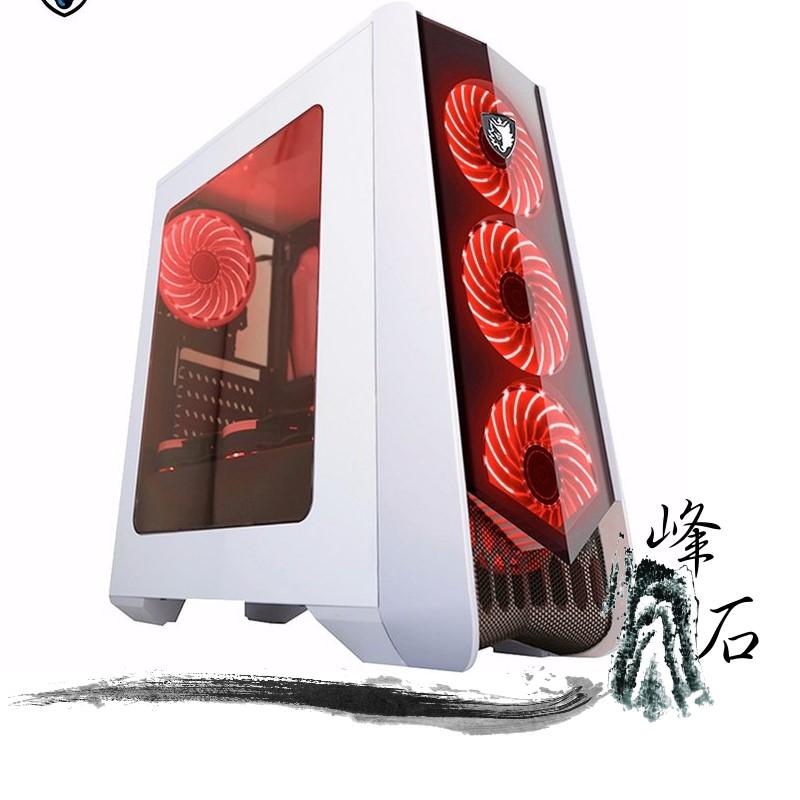 賽德斯 Horus 荷魯斯 白 透側 USB3.0 電競機殼 主機殼 12CM風扇x7