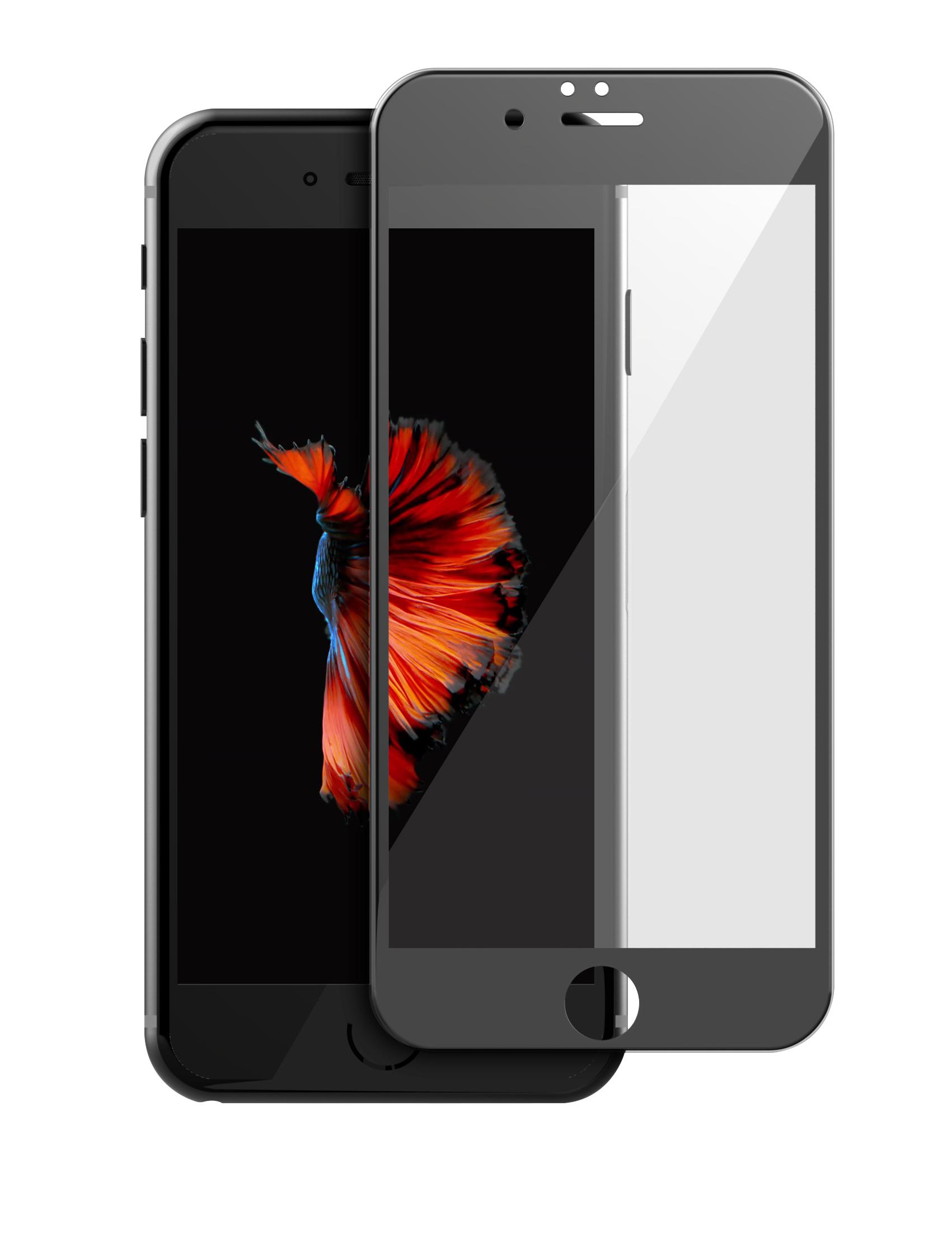 TEAMGROUP十銓科技 iPhone7PLUS 日本ASAHI旭硝子玻璃保護貼(Japan Asahi AGC Glass) 3D/9H (等同於康寧玻璃等級) 5.5吋黑色面板