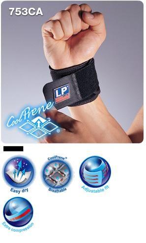 【登瑞體育】LP 美國防護 高透氣可調式護腕_753CA