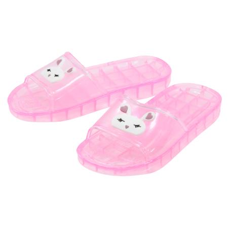 兒童拖鞋 粉18 動物家族328455